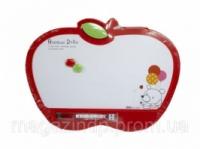 Доски детские для рисования Deli 7808Е 35х26 «Яблоко» с маркером, цветн рамка Код:388906632|escape:'html'