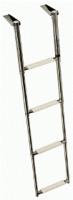 Лестница 300х1150мм 4 ступени, телескопическая нержавейка|escape:'html'