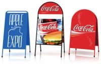 Изготовление штендеров, тротуарная реклама заказать недорого цена