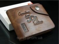 Мужской кошелек портмоне Bailini Genuine Leather|escape:'html'