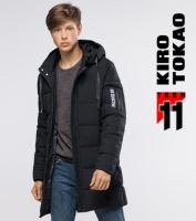 11 Kiro Tokao   Куртка подростковая на зиму 6003-1 черный escape:'html'