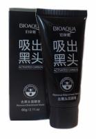 Очищающая маска-плёнка с активированным углём BIOAQUA Actived Carbon Remove Blackhead Mask, 60 мл|escape:'html'