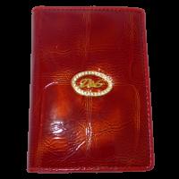 Автодокументы женские D& G(заменитель кожи), 3306-T Красный, размер 9*13*1|escape:'html'