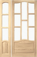 Дверное полотно парное 1200 мм. сосна высшего сорта М1_5 escape:'html'
