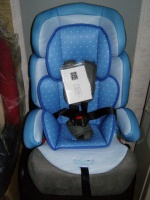Детское автокресло 3215 голубое|escape:'html'