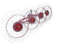 Грабли-ворошилки, 4 колеса
