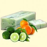 Натуральное мыло ручной работы Ароматика Мандарин-петитгрейн, Вес 1 кг.|escape:'html'