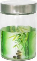 Банка S&T «Зеленый бамбук» круглая 1100 мл. 604|escape:'html'