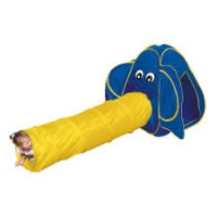 Палатка Bino Слон с тунелем 82807|escape:'html'