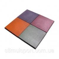 Плитка резиновая 500х500х12 (квадрат) ПГ-1|escape:'html'
