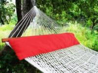 Подушка для гамака Метровая. Красная. escape:'html'