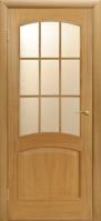 Двери межкомнатные КАПРИ-3 светлый дуб ПО
