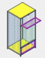 Вольер для птиц мод.ПО-1.2   «Enclosure for birds mod.ПО-1.2 » escape:'html'