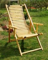 Лежак з дерев'яним настилом без підніжки «Елегант» escape:'html'