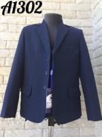 Костюм школьная форма тройка 1302 пиджак / брюки / жилетка / р-ры 110-152