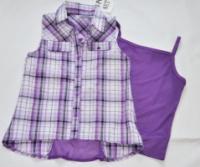Красивый комплект блузка и майка р. 4 , Beautees