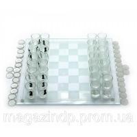 Игровой набор (Шахматы с рюмками,шашки,карты)(35х35х6,5 см) Код:19294