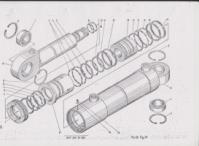 Гидроцилиндр выдвижения выносных опор 6473-219-04-000 автокран КШТ-50.01, КС-6473, КРАЯН|escape:'html'