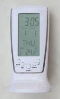 Настольные цифровые часы с термометром, подсветкой Код:475253512