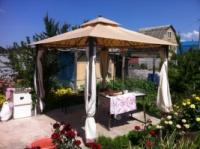 тент-крыша для садового шатра.