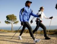 Палки телескопические для походов и скандинавской ходьбы escape:'html'