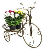 Кованая подставка для цветов «Велосипед»|escape:'html'