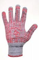 Перчатки рабочие с ПВХ точкой, 13 класс, 10 размер, в упаковке 200 пар|escape:'html'