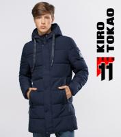 11 Kiro Tokao | Зимняя куртка для подростка 6006-1 темно-синий