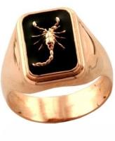 Золотая печатка «Scorpion symbol».|escape:'html'