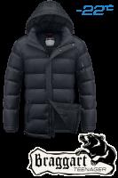 Куртка подростковая зимняя Braggart Teenager - 7655A графит