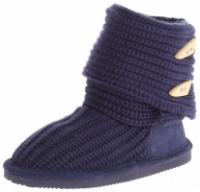 BEARPAW Knit Tall Youth Boot (Little Kid/Big Kid)