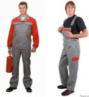 Костюм мужской, рабочая одежда для механиков, строителей|escape:'html'
