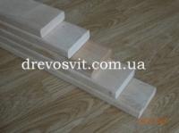 Брус полок (лежак для бани, сауны)