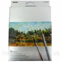 Карандаши цветные Marco 7120-36CB 36цветов D2,9мм шестигранные акварельные с кисточкой «Raffine», картонная коробка с подвесом Код:401624410|escape:'html'