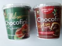 Шоколадна крем-паста Chocofini Milimi 400 g escape:'html'