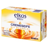 Крем-мыло Elkos Cremeseife с миндальным маслом 150г., Германия (Элькос) -17 грн