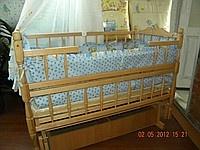 Детская кроватка с шуфлядкой (новинка)|escape:'html'