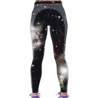 Леггинсы для фитнеса  Звездное небо