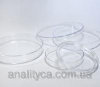 Чашка Петри диаметр 90 мм, асептическая (без вентиляционных отверстий, из PS)|escape:'html'
