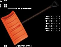 Лопата-плуг для уборки снега с металлическим черенком escape:'html'