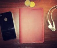Обложка для паспорта - Коричневого цвета.|escape:'html'