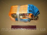 Ремень стяжной для крепления груза, 2t. 50mm.x14m.(0.5+13.5) метал. ручка «ДК» 163932 (DK-3930) Код:127360235|escape:'html'