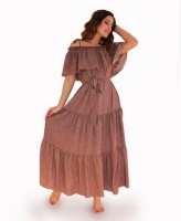 Платье летнее Цветы на темном ТМ Прованс|escape:'html'