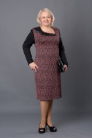 Классическое повседневное женское платье Рейн|escape:'html'