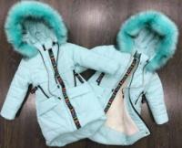 Модное зимнее пальто на девочку Love 2.