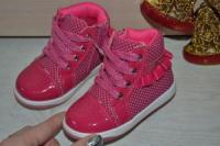 Деми ботинки для принцесс фирмы Clibee. Р.20-23
