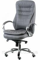 Кресло офисное для руководителя Murano gray экокожа|escape:'html'