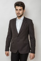 Пиджак мужской классический на двух пуговицах AG-0000160 Угольный|escape:'html'