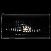 Кошелек женский H.Verde (кожа), 2536-67 Черный, размер 18*9,5*2,5|escape:'html'