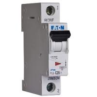 Автоматический выключатель Eaton PL 4-C 1P. 16A
